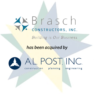 Brasch Constructors, Inc. has been acquired by A.L. Post, Inc.